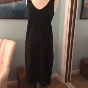 Black 100% silk dress